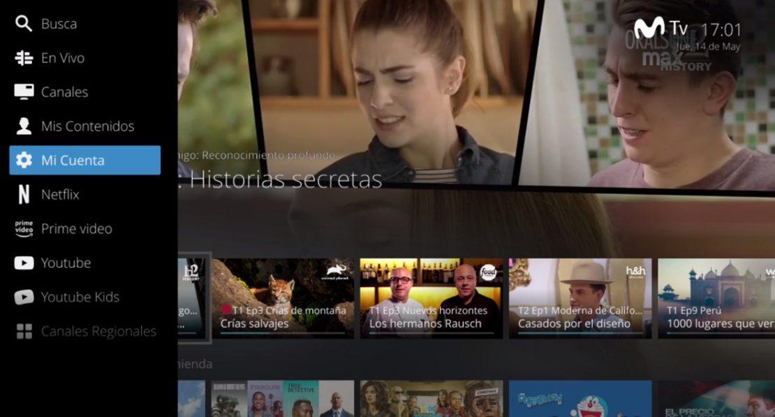 """Movistar Chile cierra alianza con Netflix, Amazon Prime Video, YouTube y YouTube Kids para transformar su servicio de IPTV en un """"centro de entretenimiento"""""""